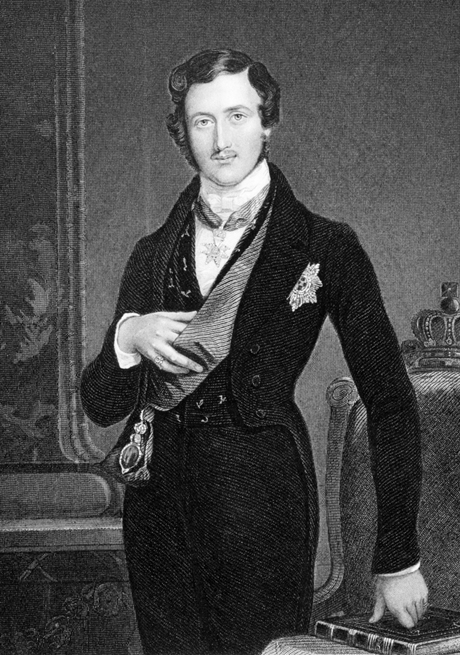 Engraving of Prince Albert in 1849