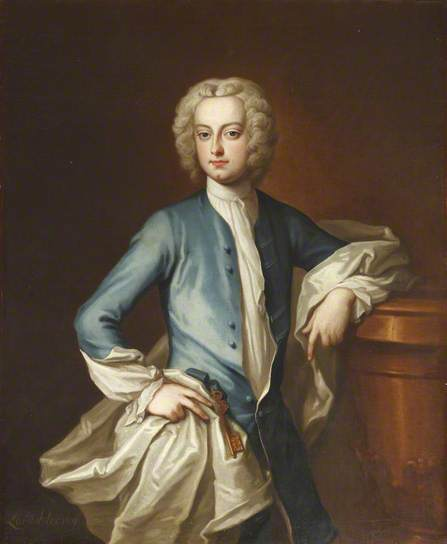 Lord John Hervey, 1737, by John Fayram (c) National Trust, Ickworth; Supplied by The Public Catalogue Foundation