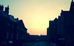 Dawn at Hampton Court