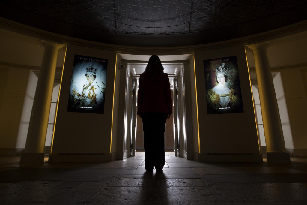 The Longest Reign display at Kensington Palace.