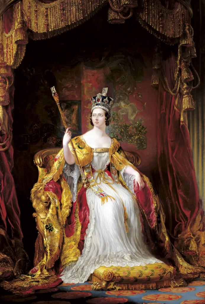 State Portrait of Queen Victoria by Sir George Hayter