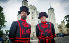 New Yeoman Warders at the Tower