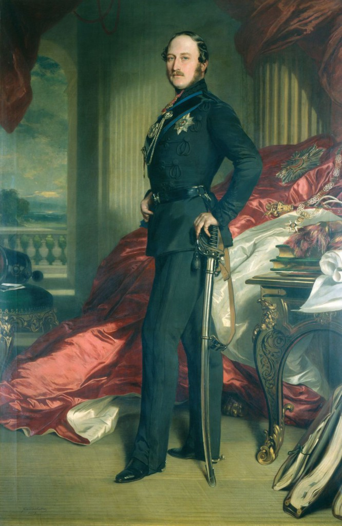 Prince Albert, The Prince Consort by Franz Xaver Winterhalter, 1859 © The Royal Collection Trust