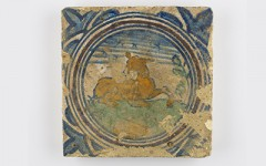 Objects Unwrapped - Tin-glazed floor tile