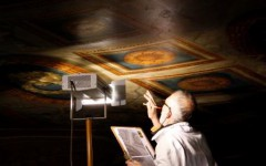 Conservation of the Queen's Stair ceiling