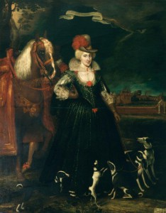Paul van Somer, 'Anne of Denmark', 1617, (c)Royal Collection Trust