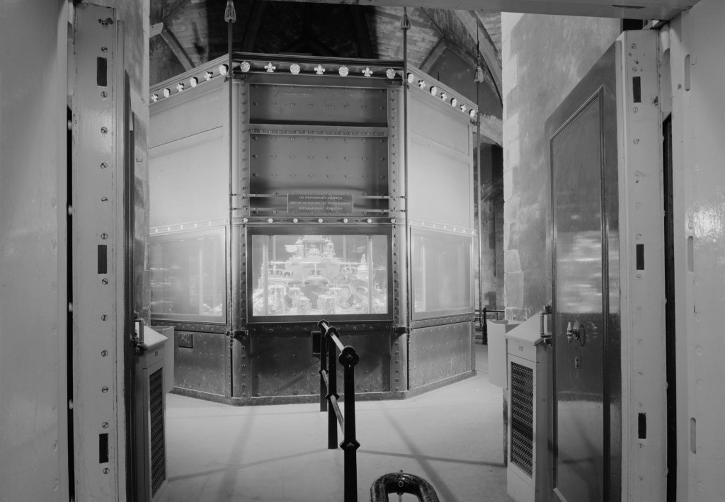 The Crown Jewels were displayed in the Wakefield Tower from 1870 until 1967 ©Historic Royal Palaces