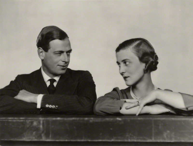 Prince George, Duke of Kent; Princess Marina, Duchess of Kent by Dorothy Wilding, October 1934, National Portrait Gallery.