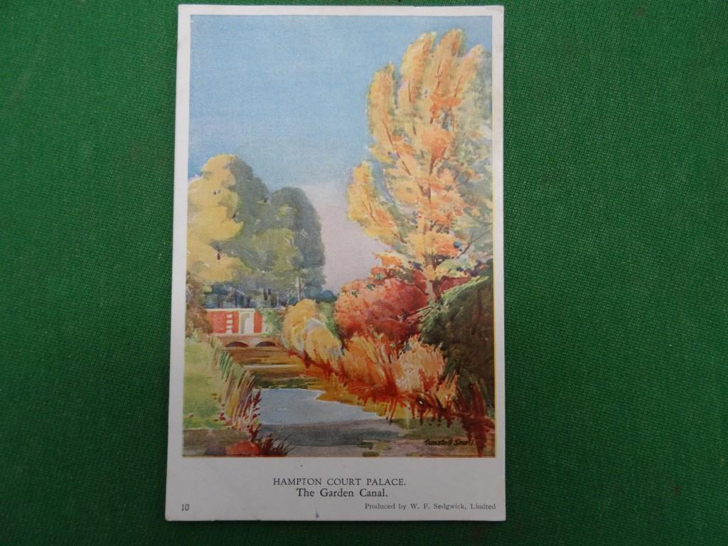 A Vintage postcard