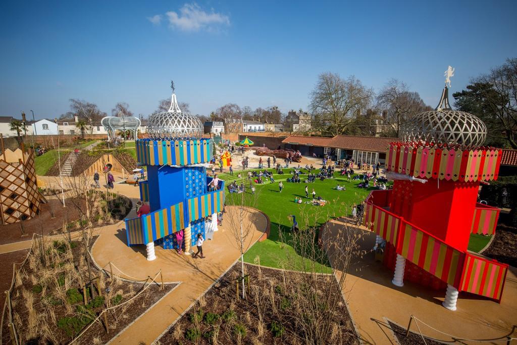 The Magic Garden (c) Historic Royal Palaces