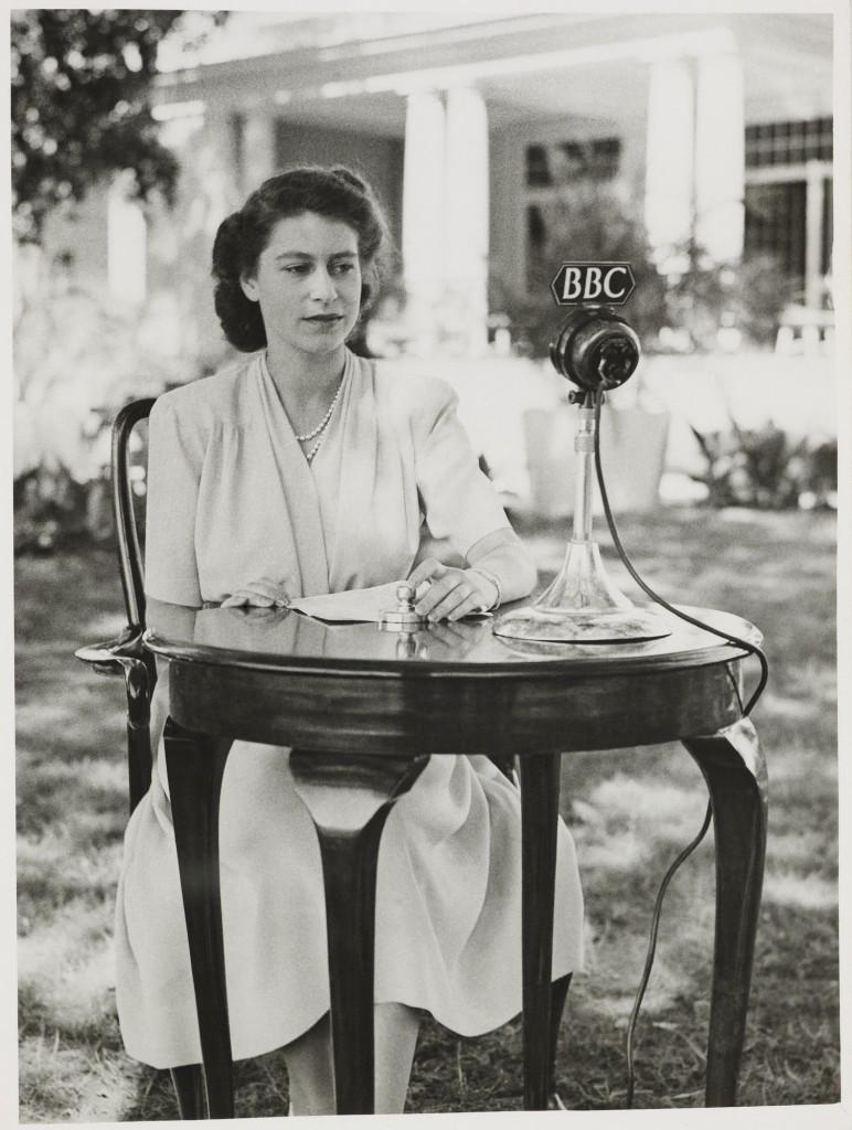 Princess Elizabeth's 21st Birthday Speech, 21 Apr 1947 © Royal Collection Trust