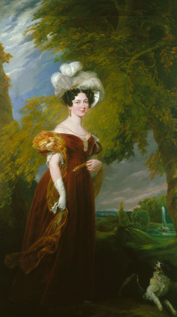 Victoria, Duchess of Kent, by by Sir George Hayter c. 1832 © The Royal Collection Trust