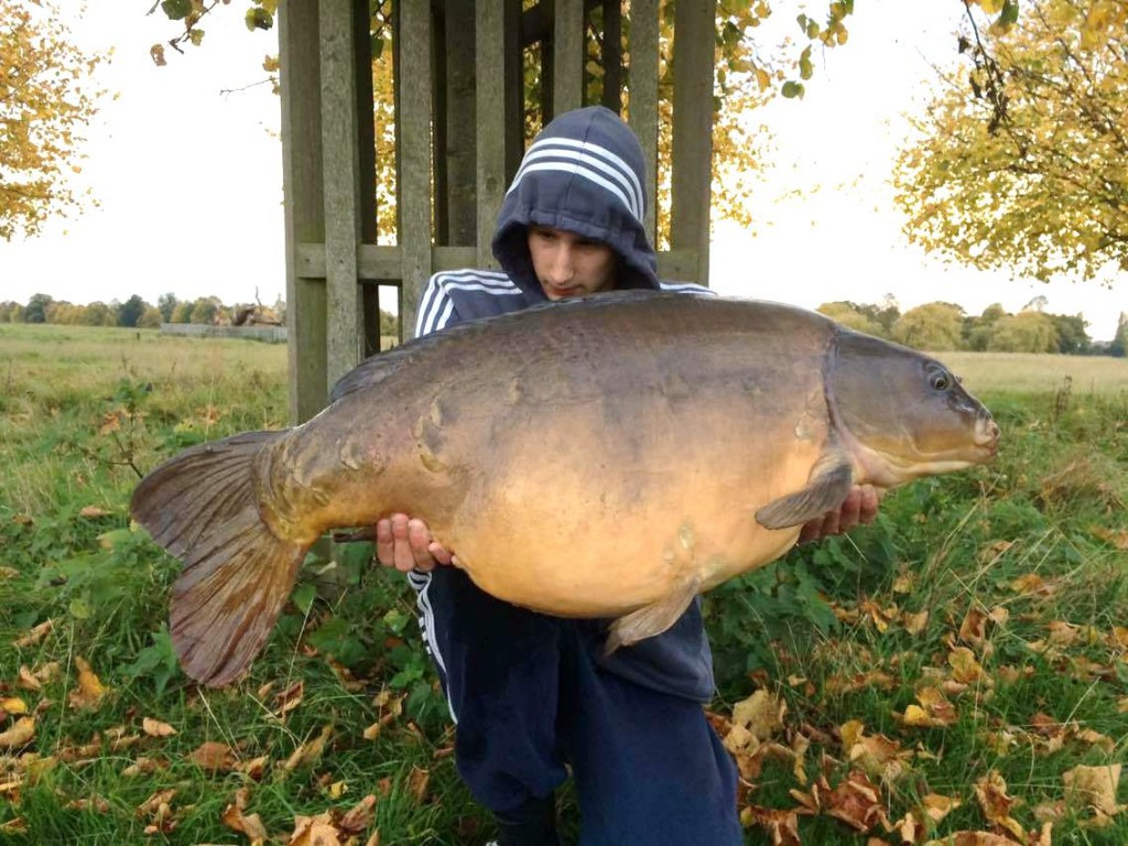 One of the largest residents in the Long Water at 39lb
