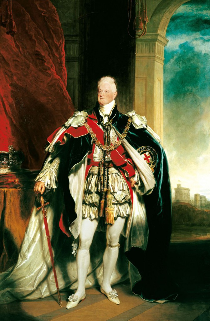 William IV by Sir Martin Archer Shee, 1833-34 © The Royal Collection Trust