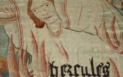 A detail from the Hercules tapestry.