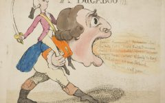"This month I'm liking...""A Bugaboo"" by Richard Newton (1777-1798) published by William Holland 2nd June 1792."
