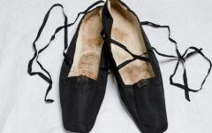 This month I'm liking…a pair of shoes from the 1840s which belonged to a young Queen Victoria