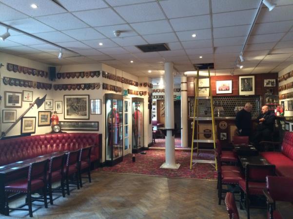 The Yeoman Warder Club before renovations began ©Historic Royal Palaces