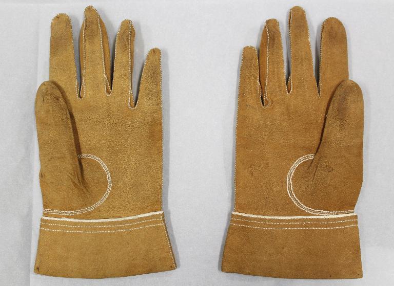 William IV's tiny gloves on display at KEw Palace © Historic Royal Palaces