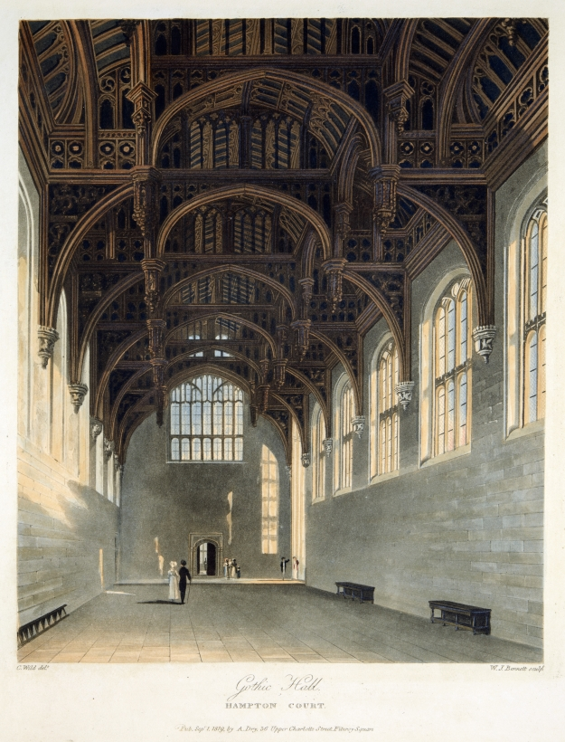 'Gothic Hall, Hampton Court',William James Bennett (1787-1844),1819,© Historic Royal Palaces