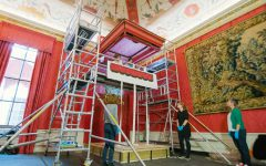 Kensington Palace Gains a Throne Canopy