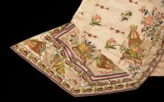 Object of the month: silk satin waistcoat