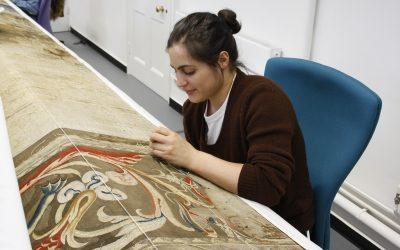 Weaving, Washing & Mermen: A Tapestry Conservation Intern