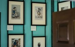 18th-century satire: displaying political cartoons at Kew Palace