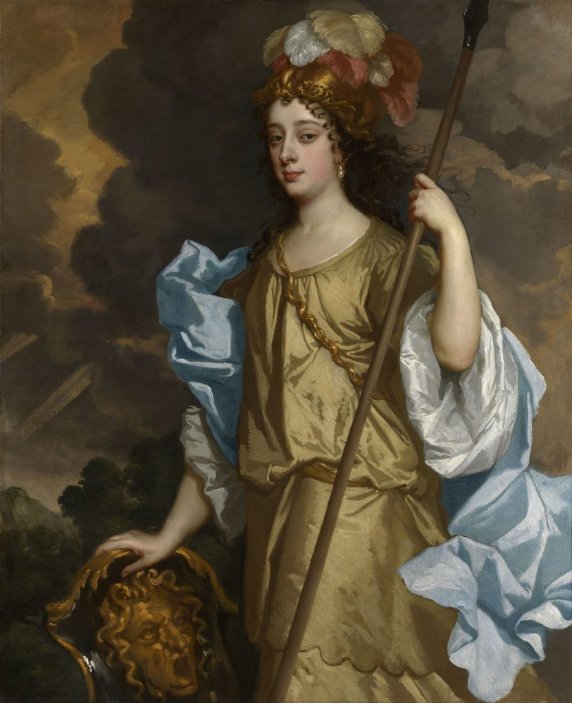 Barbara Villiers, Duchess of Cleveland (ca 1641-1709) c. 1663-65 by Sir Peter Lely.