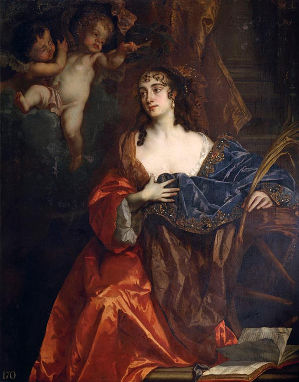Eleanor Needham, Lady Byron, c.1664? by Sir Peter Lely.