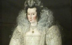 Portrait of a Lady (said to be Elizabeth Throckmorton)