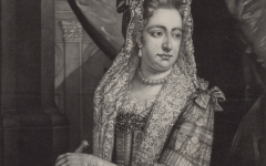 Queen Mary II working at home – 'an Enemy to Idleness'