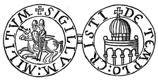 The seal of the Knights Templar